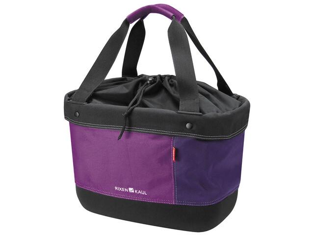KlickFix Shopper Alingo - Bolsa bicicleta - violeta